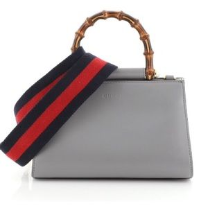 Gucci Nymphaea bamboo top handle